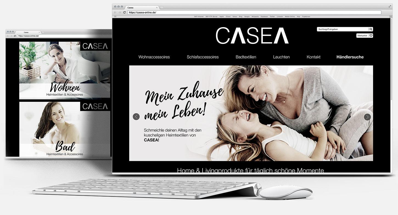 Webdesign Casea