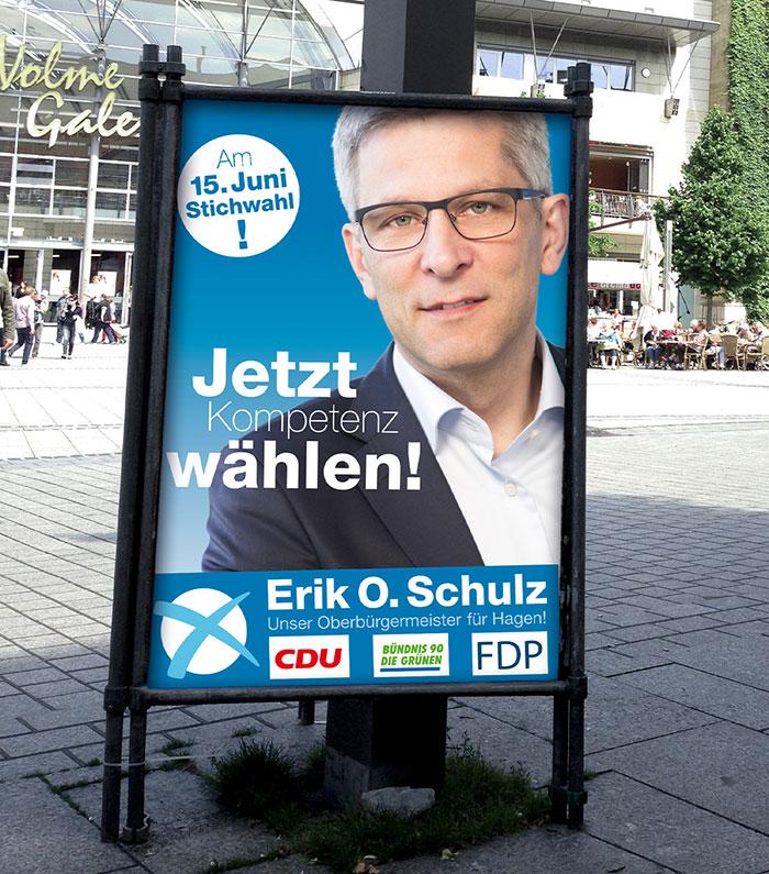 Wahlwerbung Erik O. Schulz