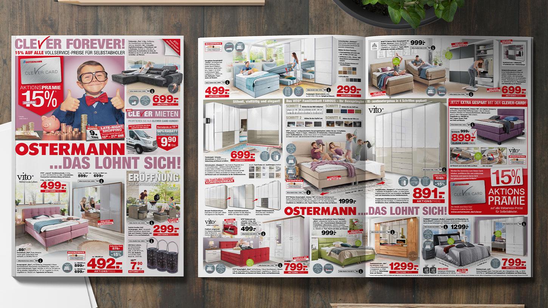 Printwerbung Ostermann